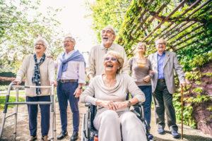 高齢外国人の集会
