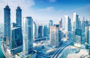 ビル街の画像