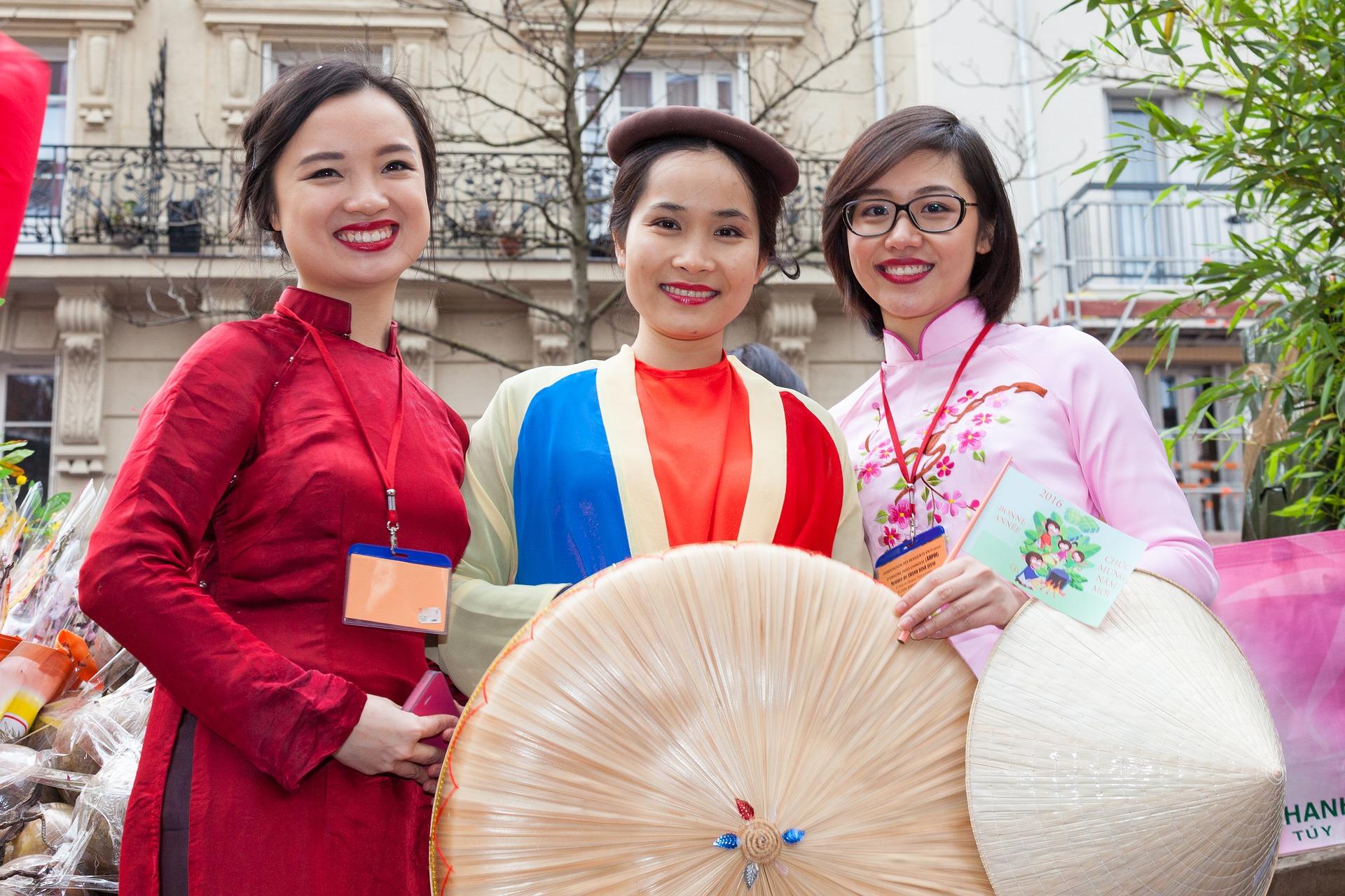 中国人の女の子たち