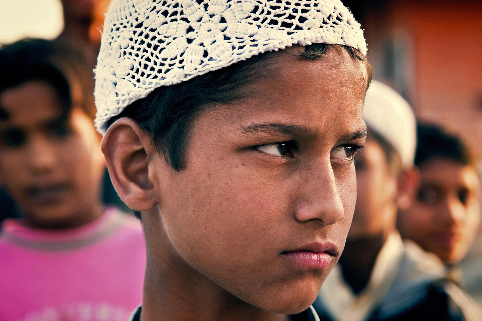 インド人の男の子