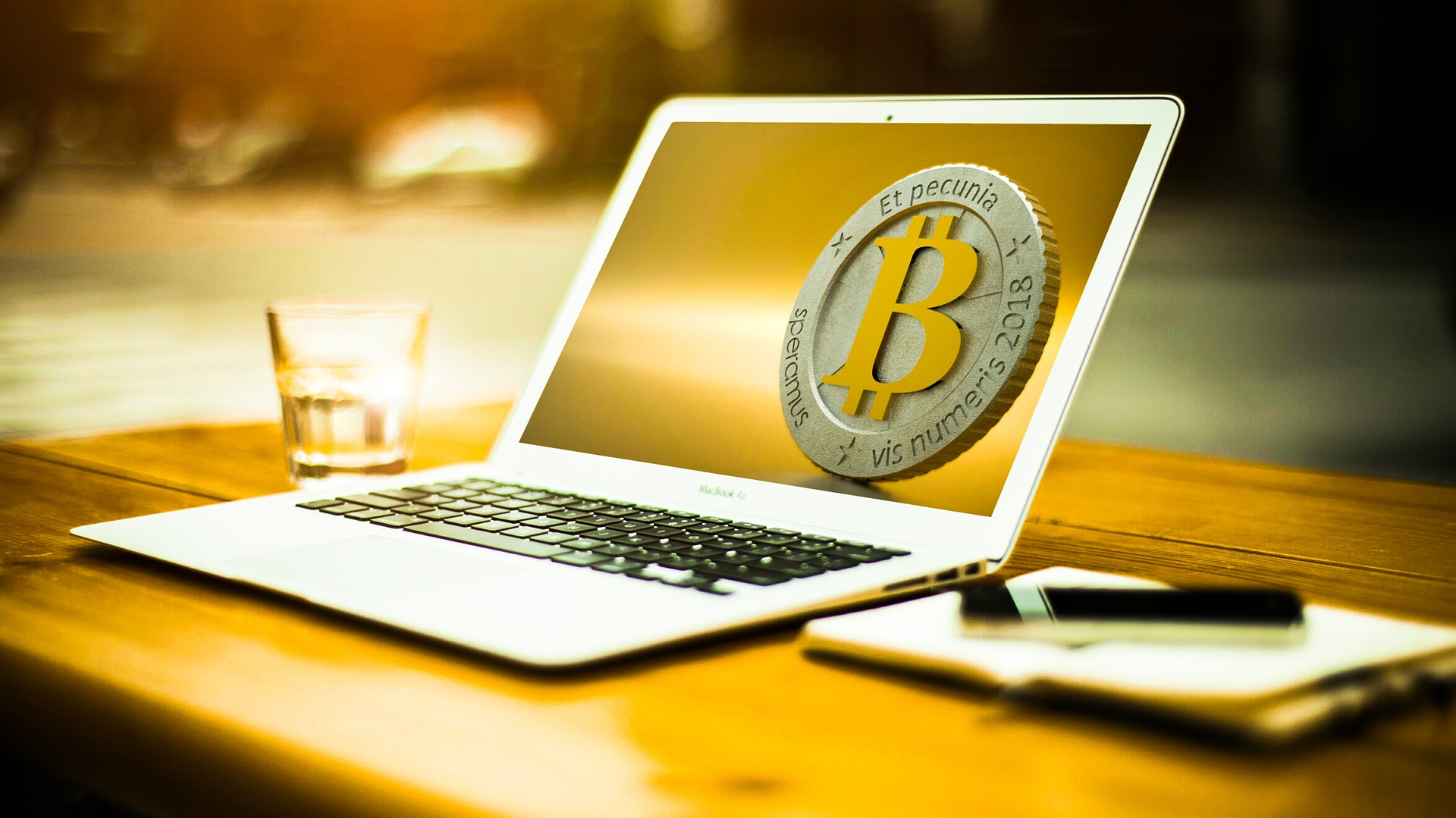 ビットコインとパソコン