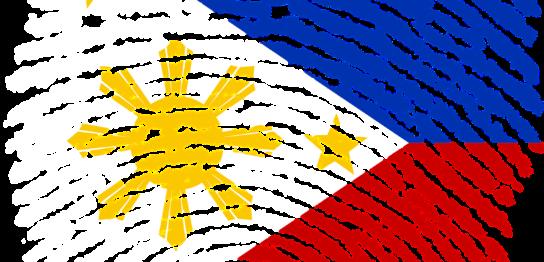 フィリピン国旗模様