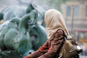 イスラム教の女性