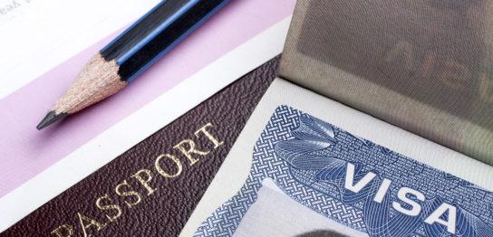 ビザとパスポート