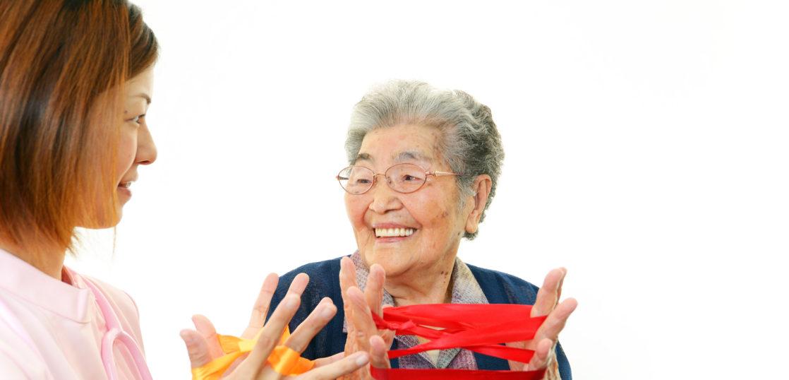 介護職とおばあちゃん