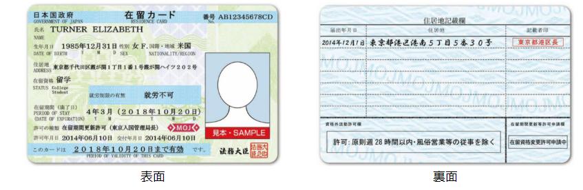 在留カードの番号って?その意味とは?   外国人採用HACKS